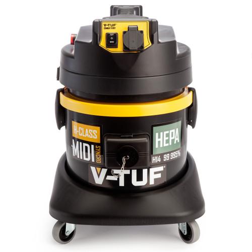 V-TUF MIDISYNCRO H-Class Dust Extractor + Wet & Dry Vacuum 240V