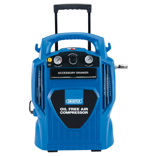 Draper 2116 6L Oil-Free Air Compressor 1.2Kw