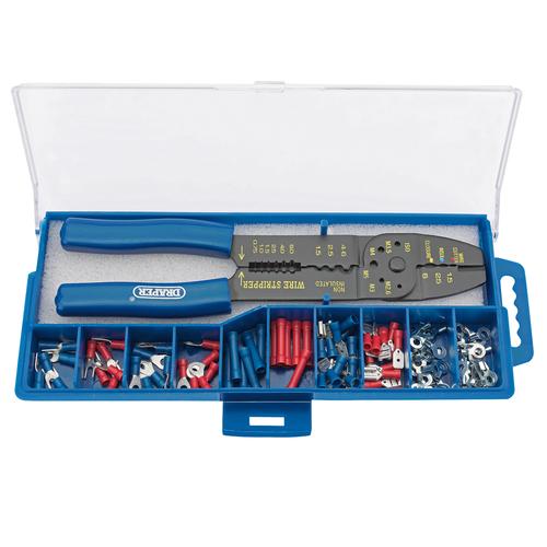 Draper 13658 5 Way Crimping Tool & Terminal Kit 240mm
