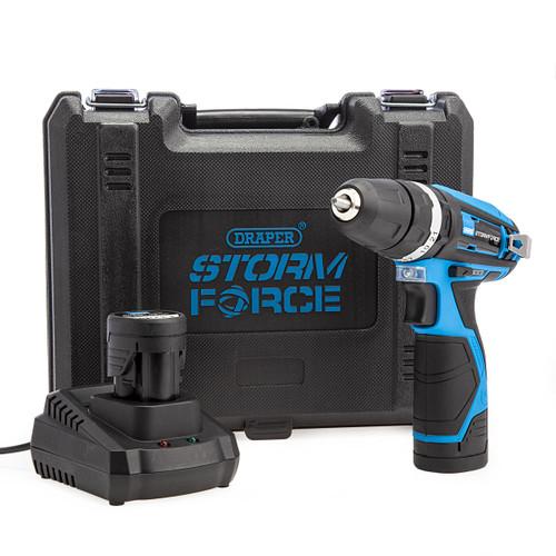 Draper 16048 10.8V Storm Force Combi Drill (2 x 1.5Ah Batteries) 4