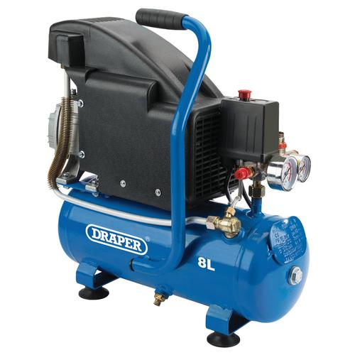 Draper 24975 Air Compressor 8L 0.75Kw
