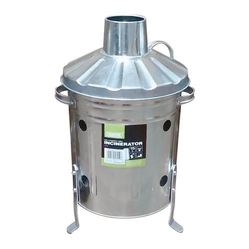 Draper 53250 Galvanised Mini Incinerator 15L