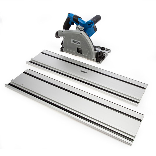 Draper 57341 165mm Plunge Saw With Guide Rails (240V) 4