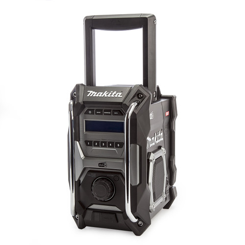 Makita MR003GZ01 12V-40Vmax XGT Job Site Radio Black DAB/DAB+ 3