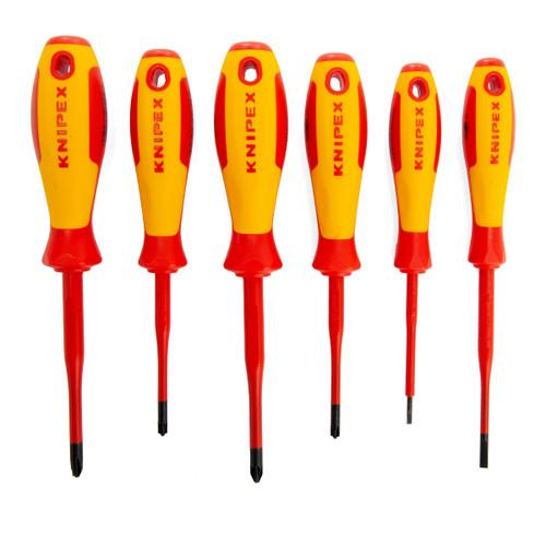 Knipex 002012V05 VDE Screwdriver Set 1000V (6 Piece)
