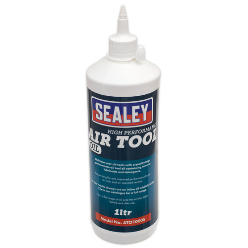 Sealey ATO1000S Air Tool Oil - 1 Litre