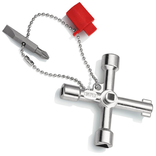 Knipex 001103 Control Cabinet Key for all Standard Cabinets and Shut-Off Systems
