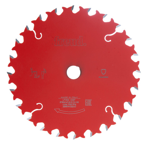 Freud LP30M 006P Circular Saw Blade for Solid Wood 160 x 16mm x 24T