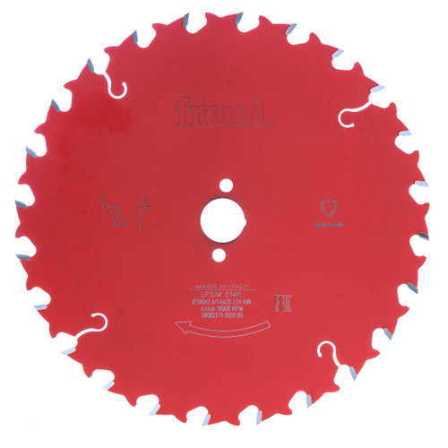 Freud LP30M 014P Circular Saw Blade for Solid Wood 190 x 20mm x 24T