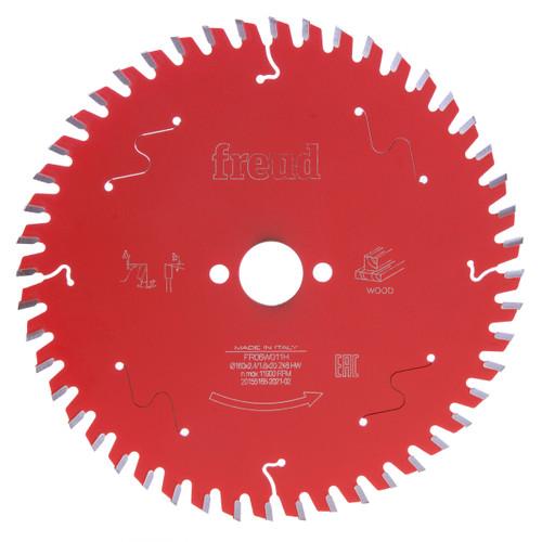 Freud F03FS09683 Circular Saw Blade for Wood 160 x 20mm x 48T