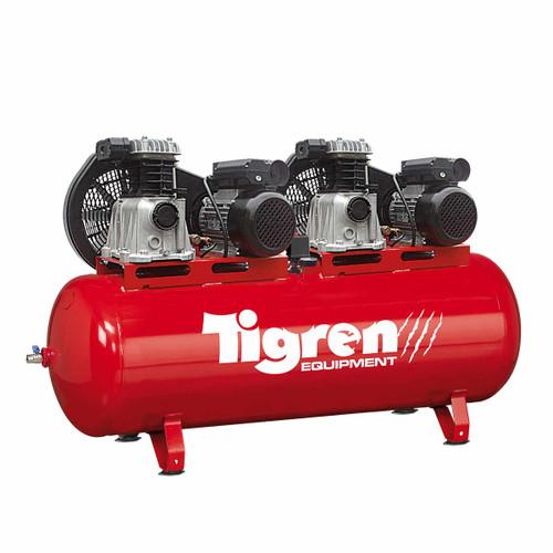 SIP 04386 Tigren Tandem Air Compressor 270L