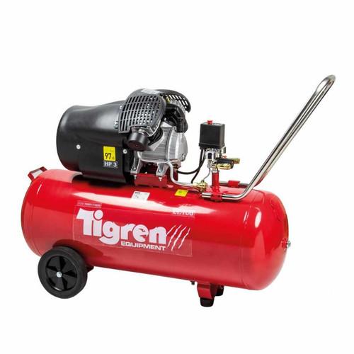 SIP 04388 Tigren V100DD Air Compressor 100L