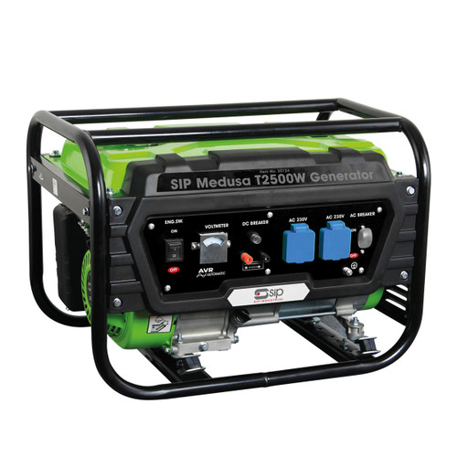 SIP 25124 Medusa T2500W Petrol Generator