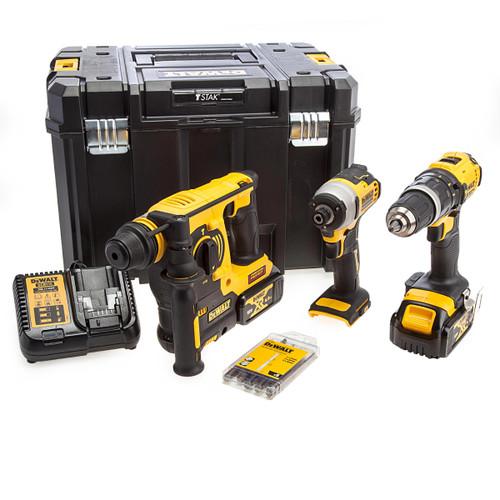 Dewalt 18V 3 Piece Construction Kit (2 x 4.0Ah Batteries) 5