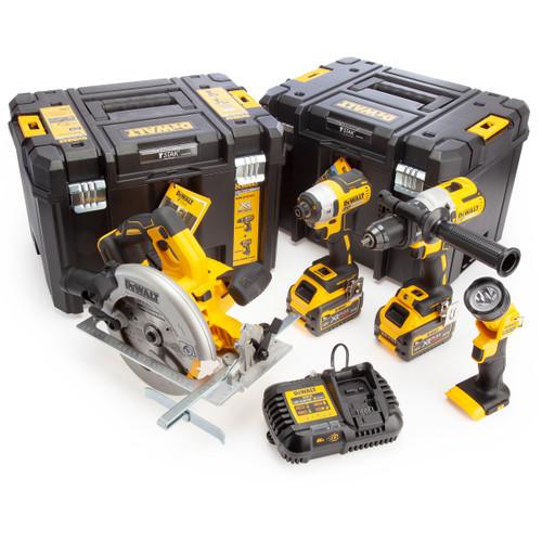 Dewalt 54V XR 4 Piece Cordless Kit (2 x 6.0Ah Batteries) 2