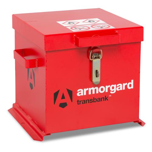 Armorgard TRB1 Transbank Hazardous Transit Box 430 x 415 x 365mm