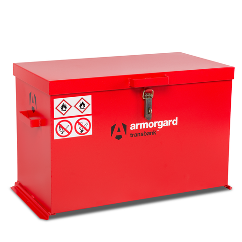 Armorgard TRB4 Transbank Hazardous Transit Box 880 x 485 x 540mm