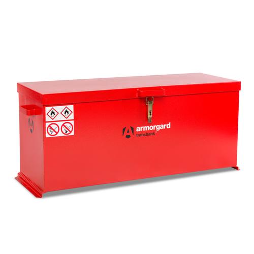 Armorgard TRB6 Transbank Hazardous Transit Box 1195 x 485 x 540mm