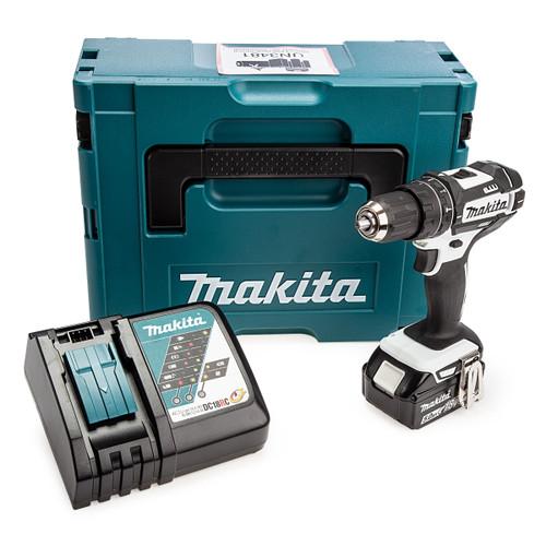 Makita DHP482T1JW 18V LXT White Combi Drill (1 x 5.0Ah Battery) 4