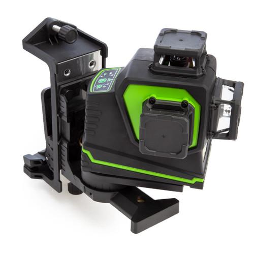 Imex LX3DG 3D Multi Line Green Laser with Magnetic Bracket in Case