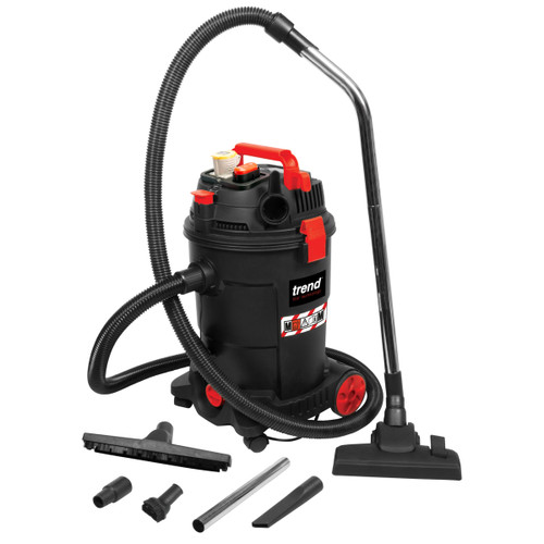 Trend T33AL M Class Dust Extractor / Wet & Dry Vacuum Cleaner 25L (110V)