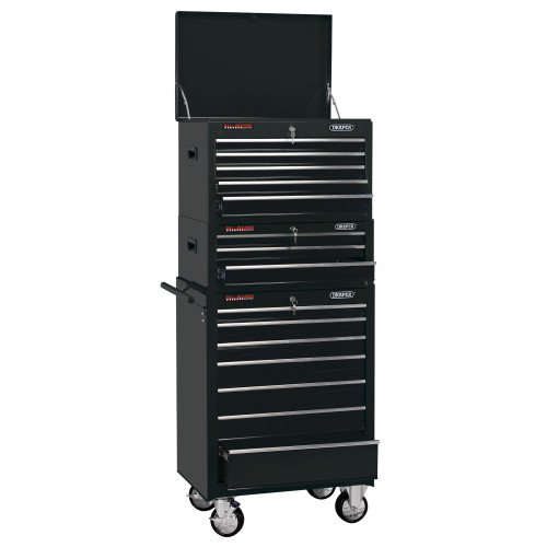 """Draper 04594 26"""" Combined Roller Cabinet & Tool Chest (15 Drawers)"""