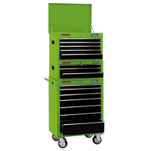 """Draper 04596 26"""" Combination Roller Cabinet & Tool Chest (15 Drawers)"""
