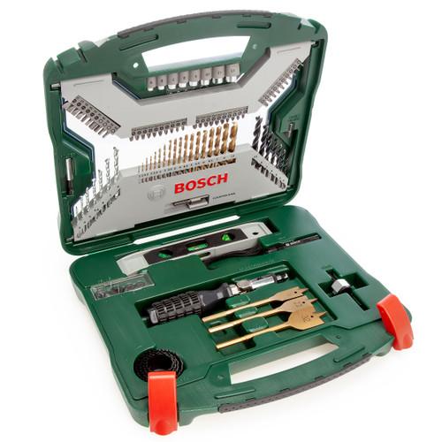 Bosch 2607019330 X-Line Titanium Drill and Screwdriver Bit Set (100 Piece)