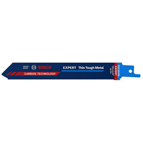 Bosch 922 EHM (2608900360) Expert Thin Tough Metal Reciprocating Blade 150mm / 6in