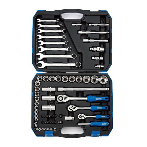 """Draper 16364 1/4"""", 3/8"""" & 1/2"""" Square Drive Metric Tool Kit"""
