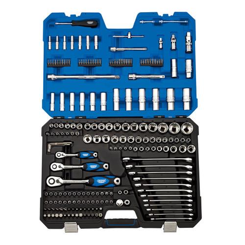 """Draper 16462 1/4"""", 3/8"""" & 1/2"""" Square Drive Metric Tool Kit"""