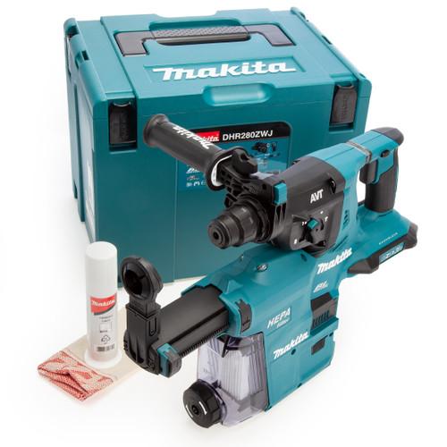 Makita DHR280ZWJ 36V LXT Rotary Hammer + DX09 (Body Only) Accepts 2 x 18V Batteries