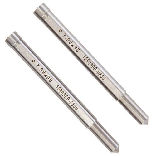 HMT 108030P-0600 CarbideMax 40 Broach Cutter Pilot Pin 18-80mm (Pack Of 2)