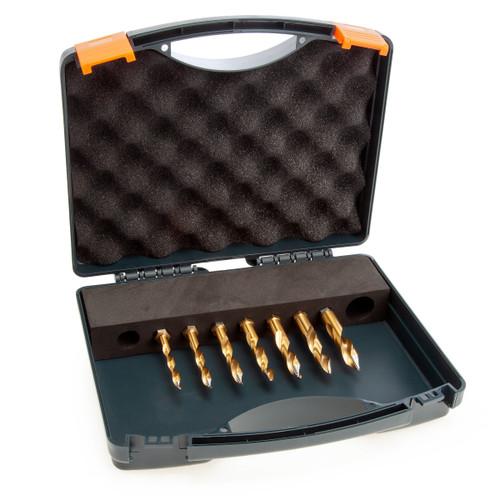HMT 209015-SET2 VersaDrive TurboTip Impact Drill Bit Set 6-12mm