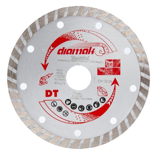 Makita D-61167 Diamond Wheel Wave 125mm
