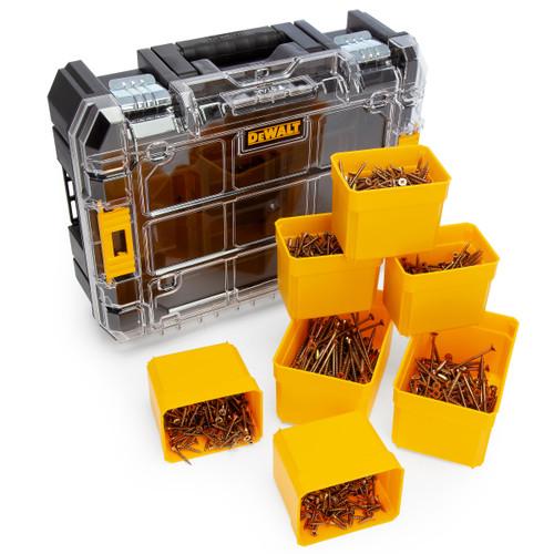 Dewalt DWFWDS1100 Assorted Woodscrew Kit in TSTAK Box (1100 Pieces)