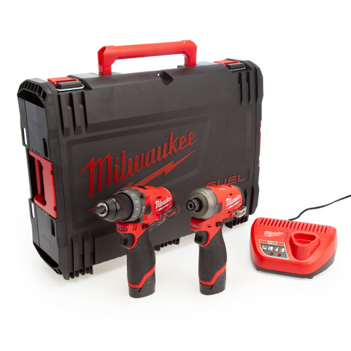 Milwaukee FUEL Combi Drill & Impact Driver Twin Pack