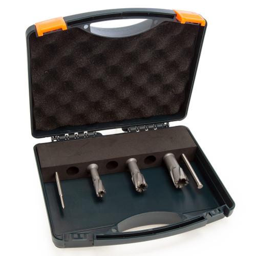 HMT 108030-SET CarbideMax 40 TCT Magnet Broach Cutter Set (3 Piece)