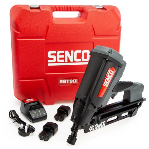 Senco SGT90I-4VS7001N Cordless Framing Nailer (2 x 7.2V Batteries)