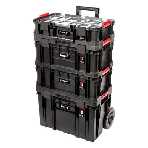 Trend MS/C/SET4C Modular Storage Cart Set