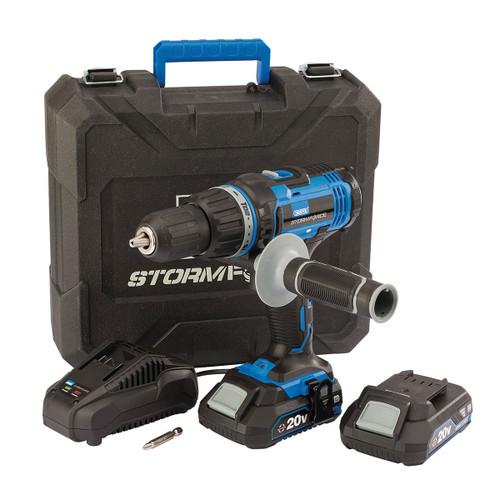 Draper 89523 20V Storm Force Combi Drill