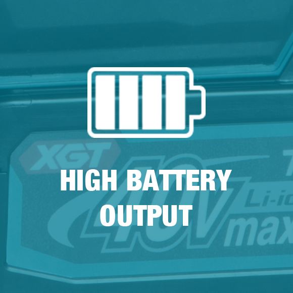 Makita XGT offers 40V battery output