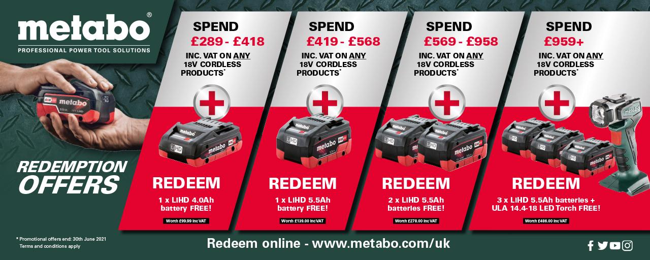 Metabo Redemption Deal