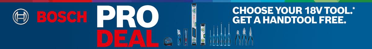 Bosch ProDeal Battery Deal