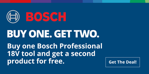 Bosch Buy One Get Two Deals at Toolstop