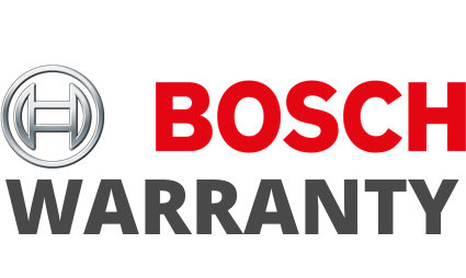 Bosch Warranty Badge