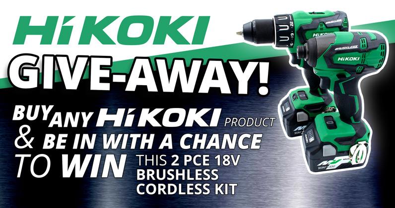 Win a HiKOKI twin pack!