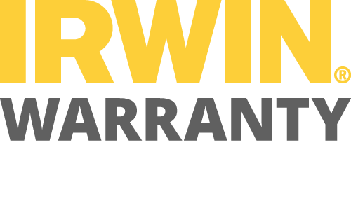 Irwin Warranty Badge
