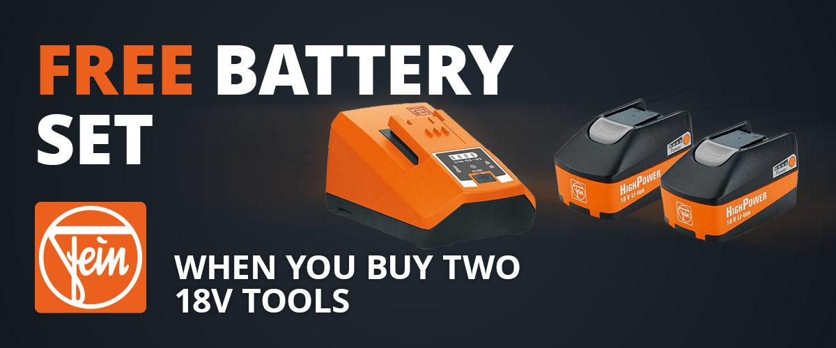 Fein Battery Deal