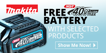 Makita Free Battery at Toolstop